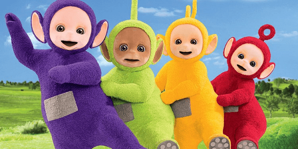 WIe is het teletubbies