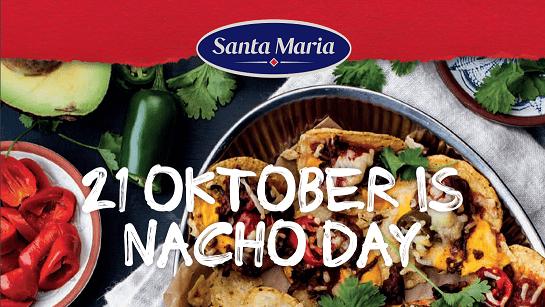 Nacho day is 21 oktober, vandaar de pubquiz op deze dag