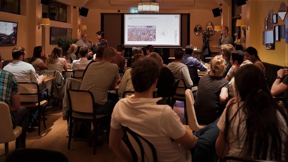 Pubquizzen van De Andere Quiz in Cafés en Restaurants