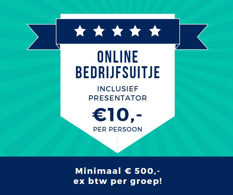 10 euro per persoon voor een online bingo