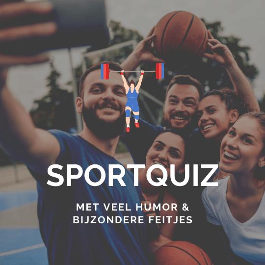 Bestel een sportquiz met hilarische bloopers, bijzondere hoogtepunten en creatieve quizvragen