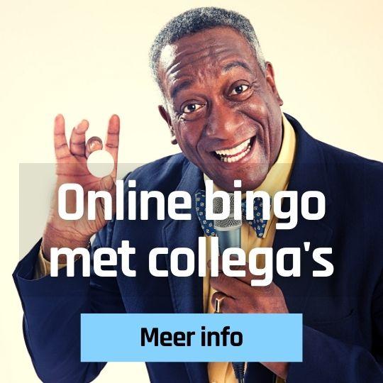 Bingo online met collega's