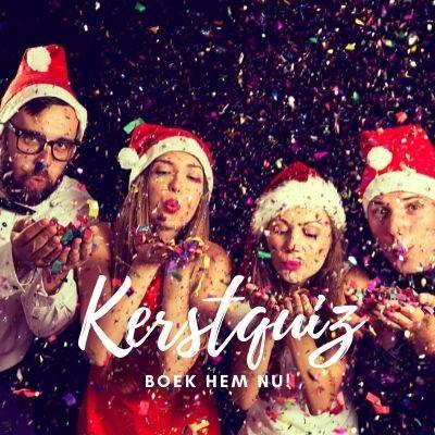 Speel bij het bedrijfsuitje onze kerstquiz om in kerst sfeer te komen met leuke kerstmuziek