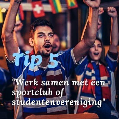 Samenwerken sport club pubquiz kroeg cafe